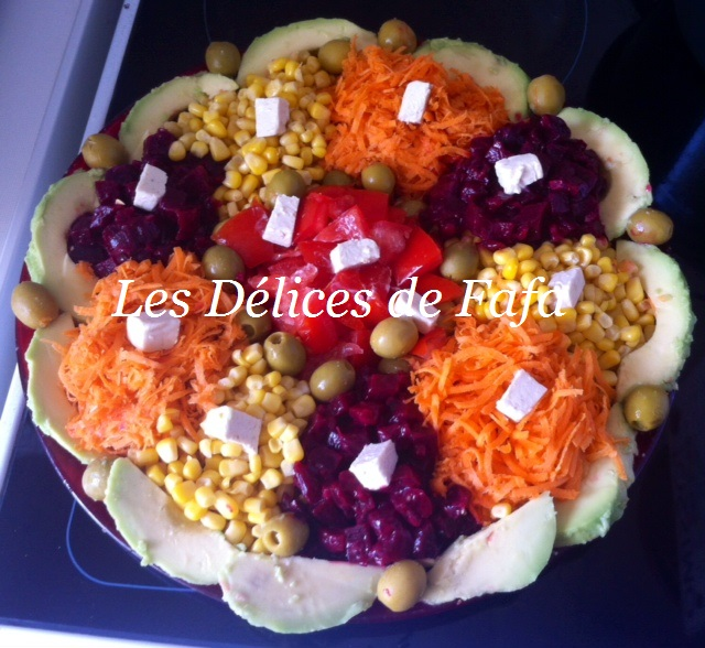 decoration salade variee